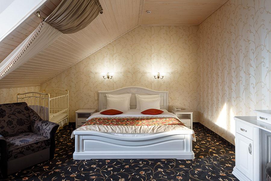 Готель в Карпатах, номер люкс, фото 2