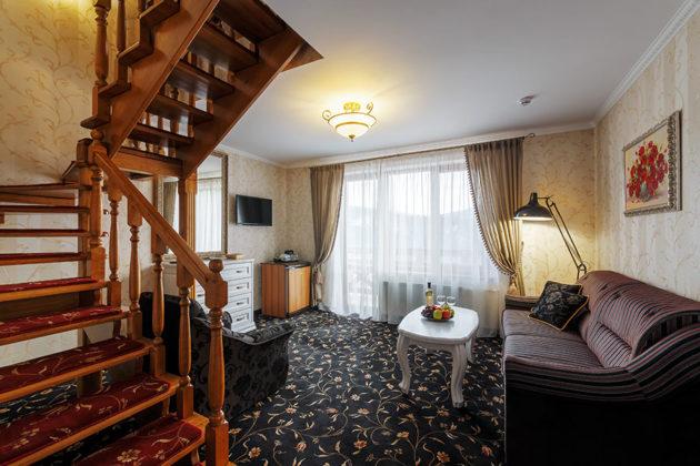 Готель Ведмежа Гора, номер люкс комфорт, фото 1