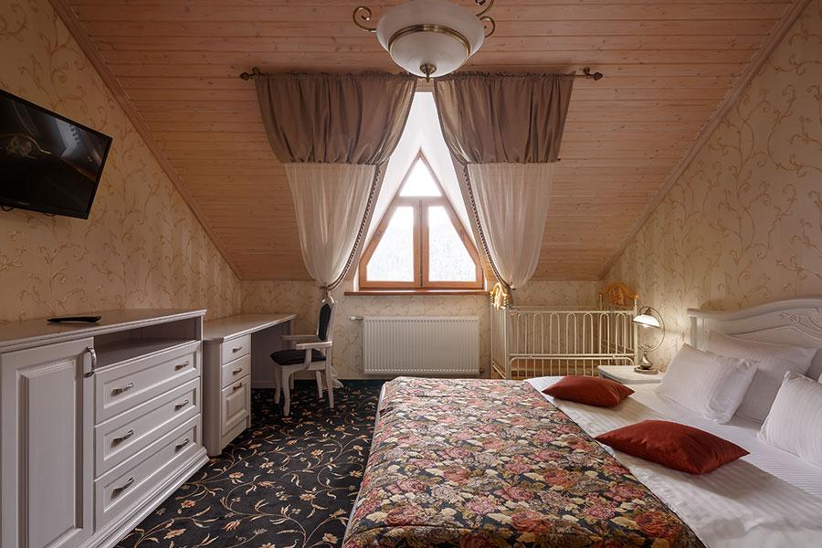 Готель Ведмежа Гора, номер люкс комфорт, фото 8