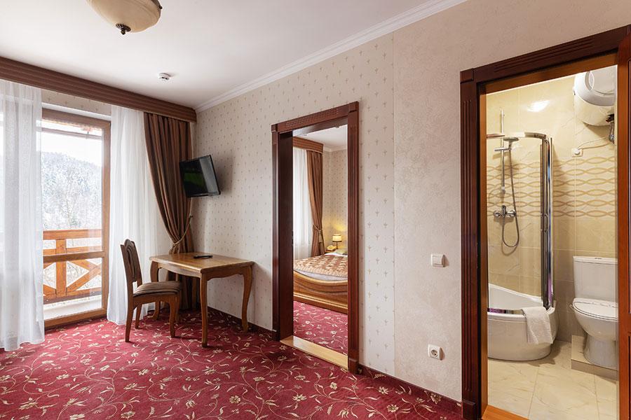Готель напівлюкс в Карпатах для чудового відпочинку, фото 3